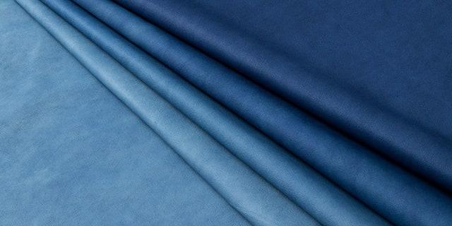 藍染牛革 スクモレザー社