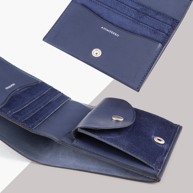 ベビーカーフ 二つ折り財布(No.8)