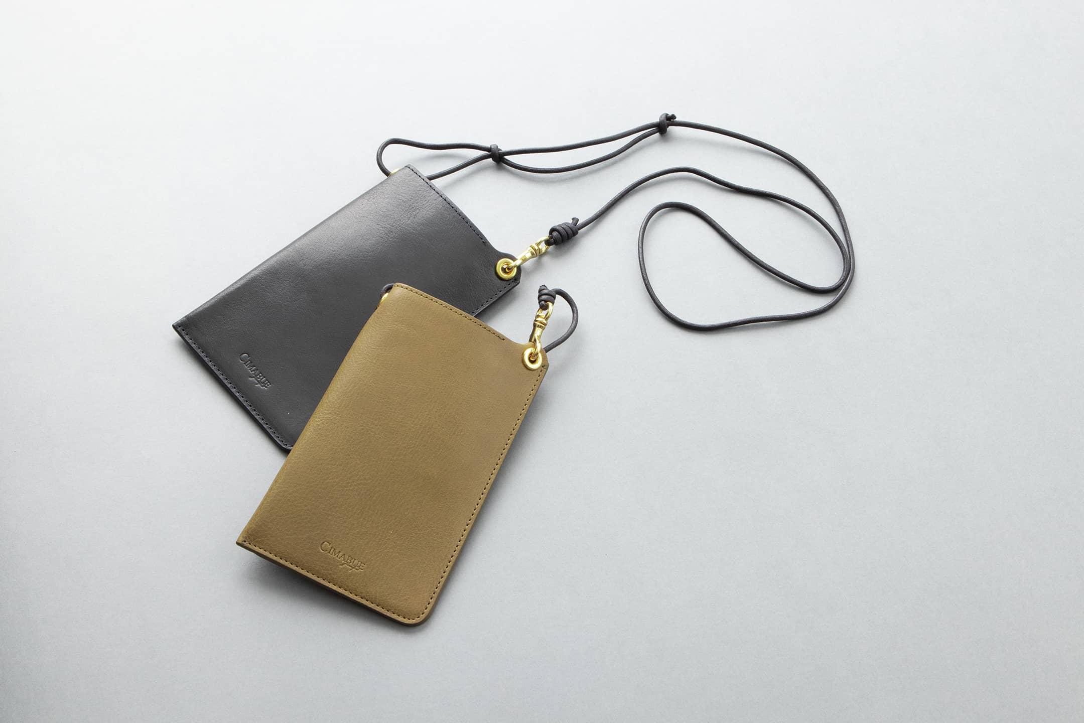 オイルバケッタ モバイルポーチ by CIMABUE(チマブエ)
