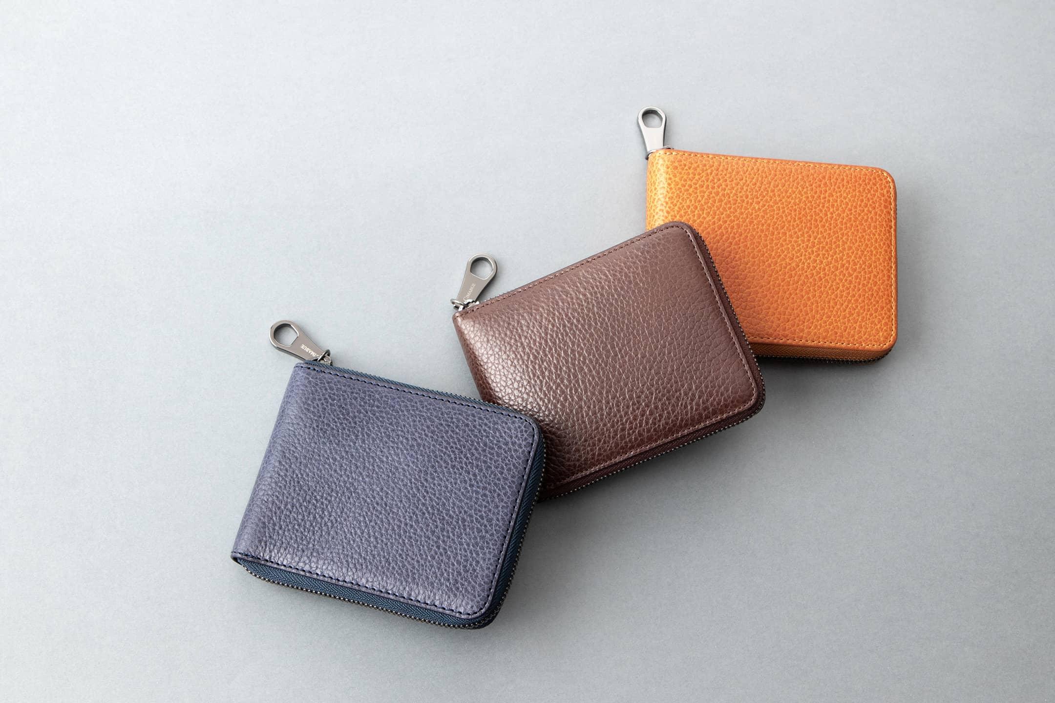 ベルーガ ラウンドジップ二つ折り財布 by CIMABUE(チマブエ)