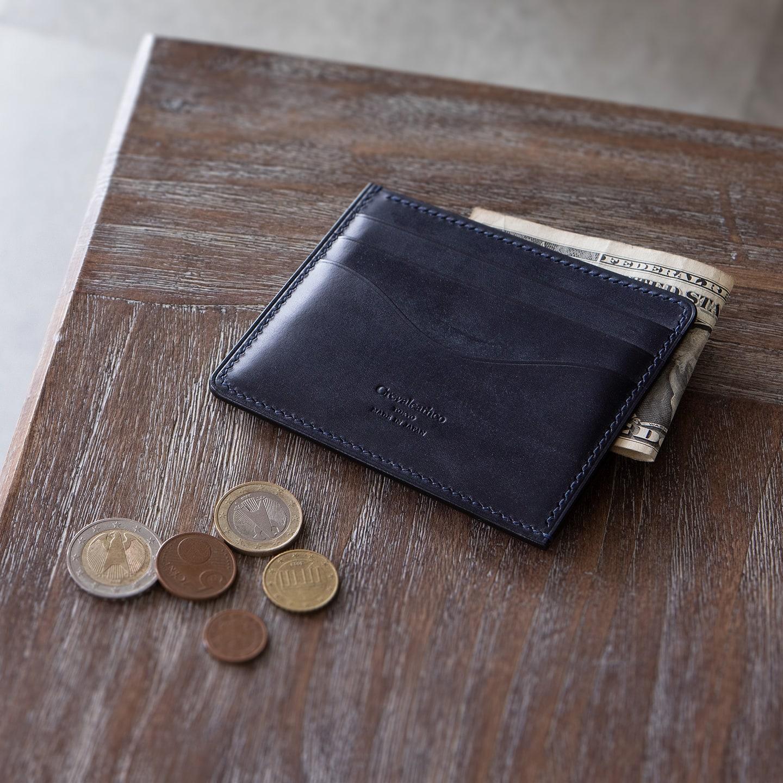 Crevaleathco(クレバレスコ) / ブライドル × ブリランテ コンパクト財布