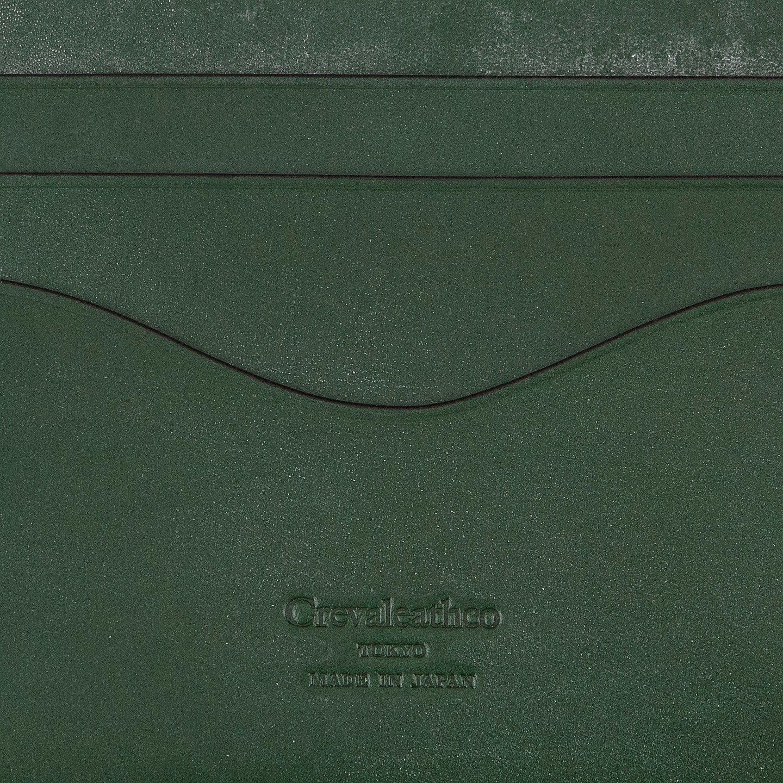 Crevaleathco(クレバレスコ) / ブライドル × ブリランテ コンパクトマルチ財布