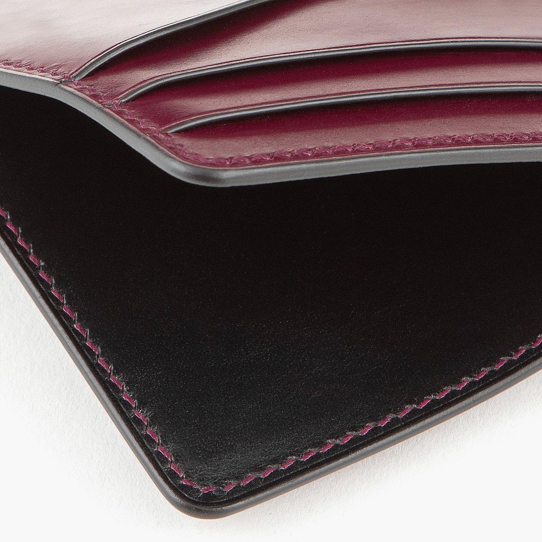 スムースレザー「ブリランテ」を採用したコンパクト財布