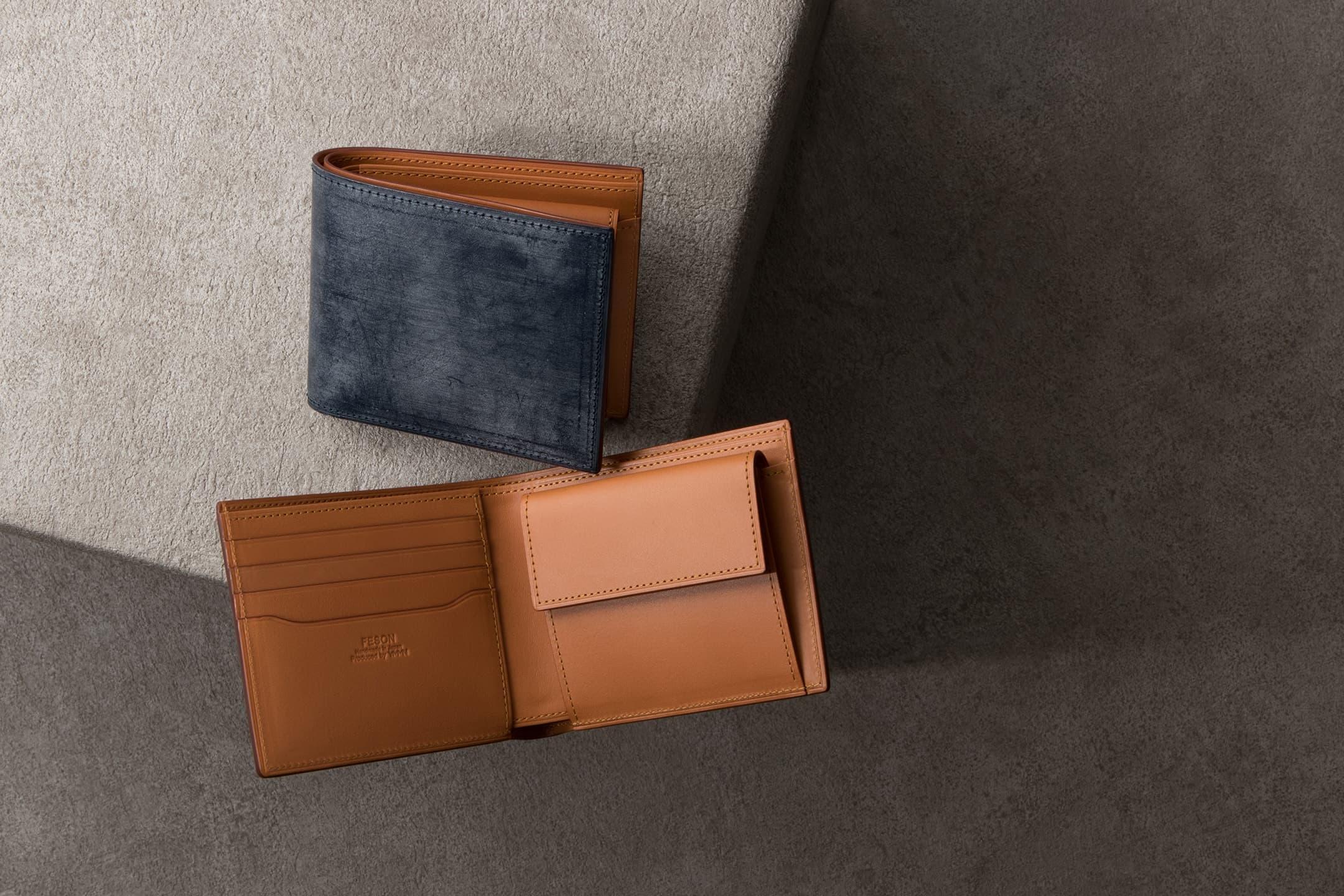 ブライドル 二つ折り財布(小銭入れ付) by FESON(フェソン)
