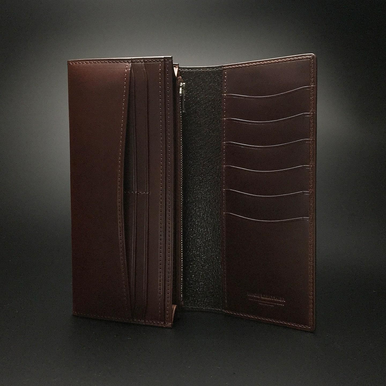 プルアップオイルレザーの長財布