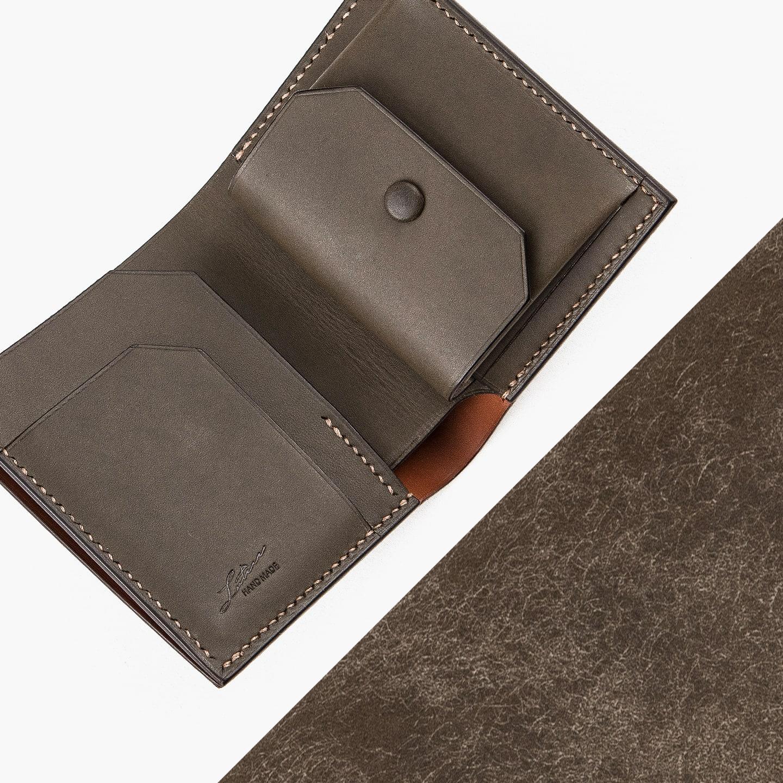 プエブロレザー&ミネルバ・リスシオ コンパクト財布