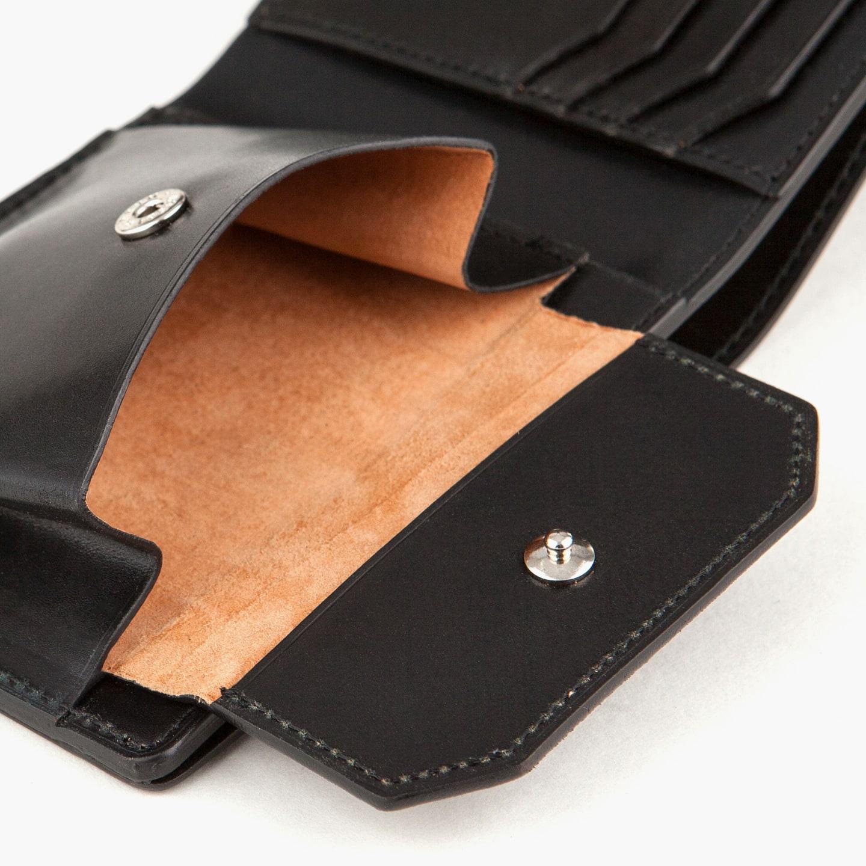 ホーウィン シェルコードバン 二つ折り財布(小銭入れ付き) by 二宮五郎商店