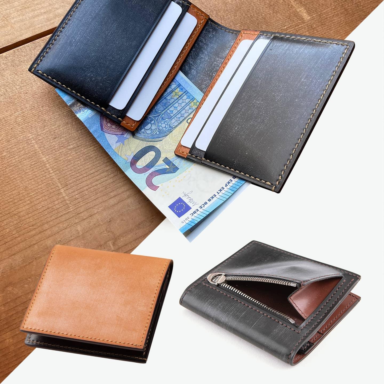 ブライドル 薄型二つ折り財布(小銭入れ付き)