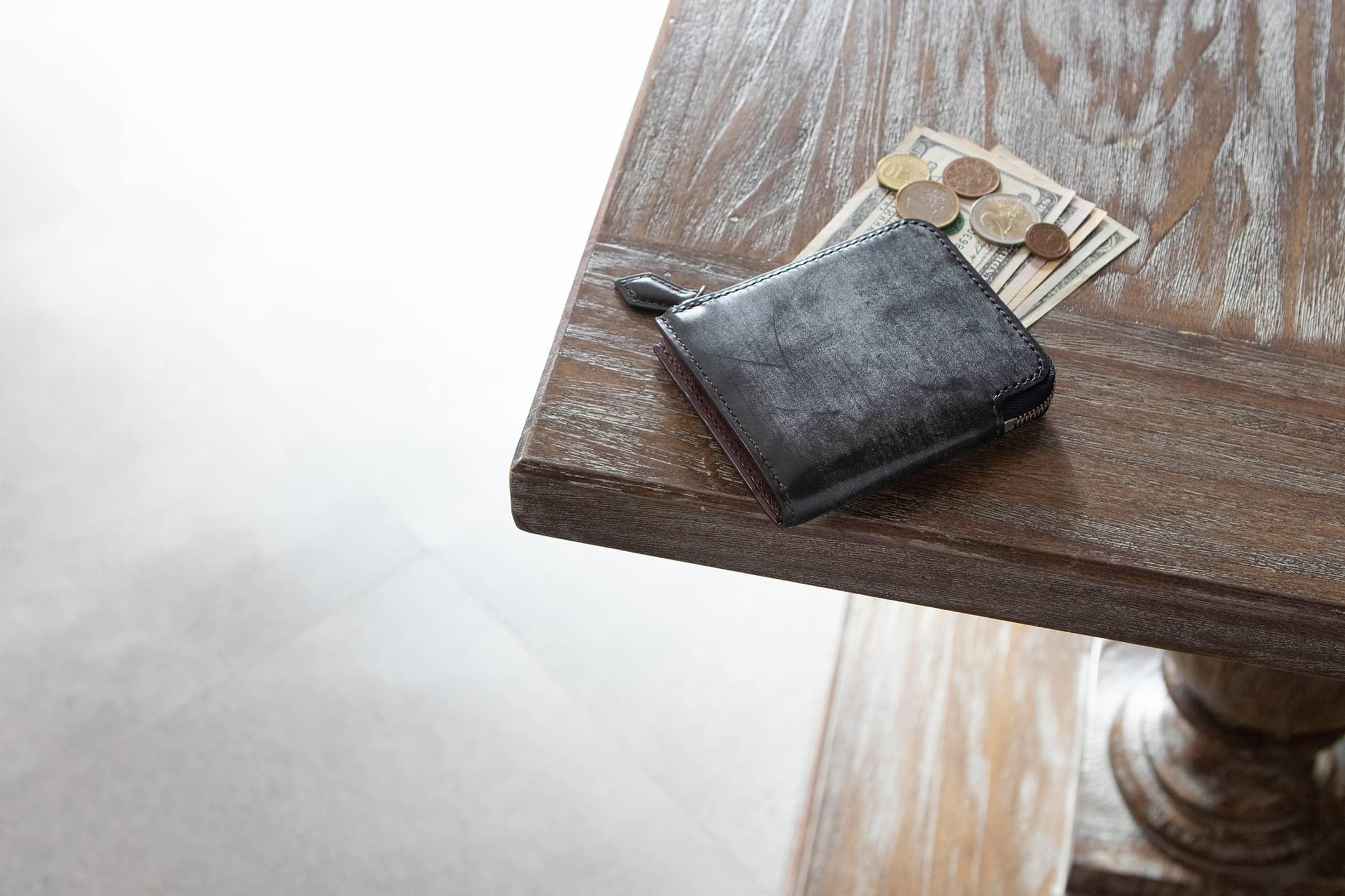 ブライドル L字ジップハーフ財布 by otohaci(オトハチ)