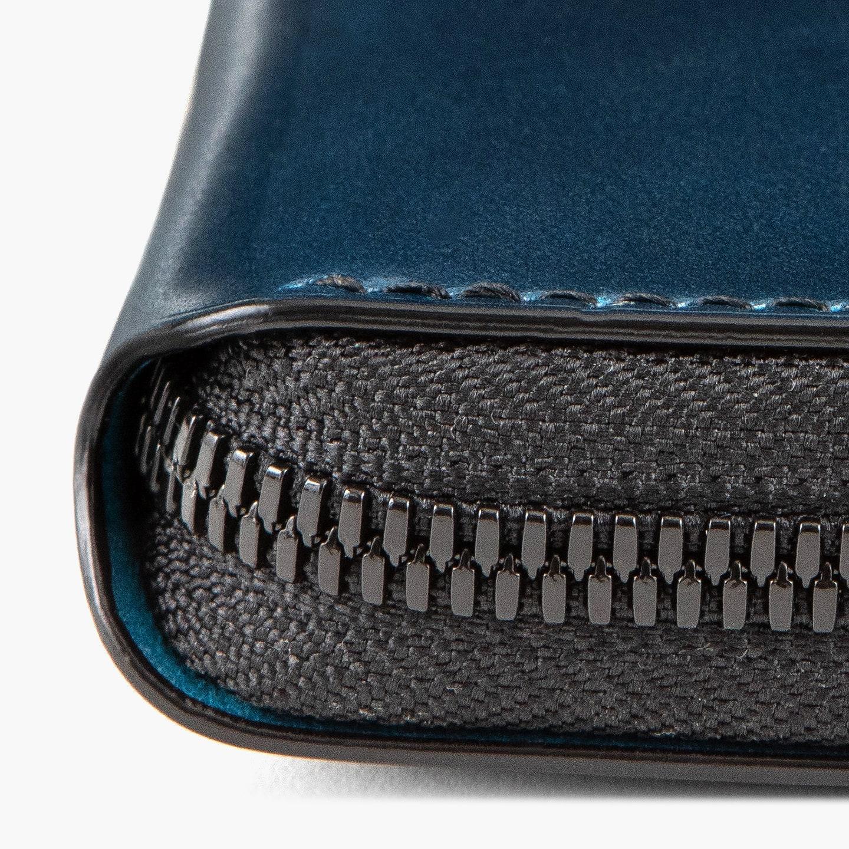 オイルコードバン & プエブロ ショートラウンドジップ財布
