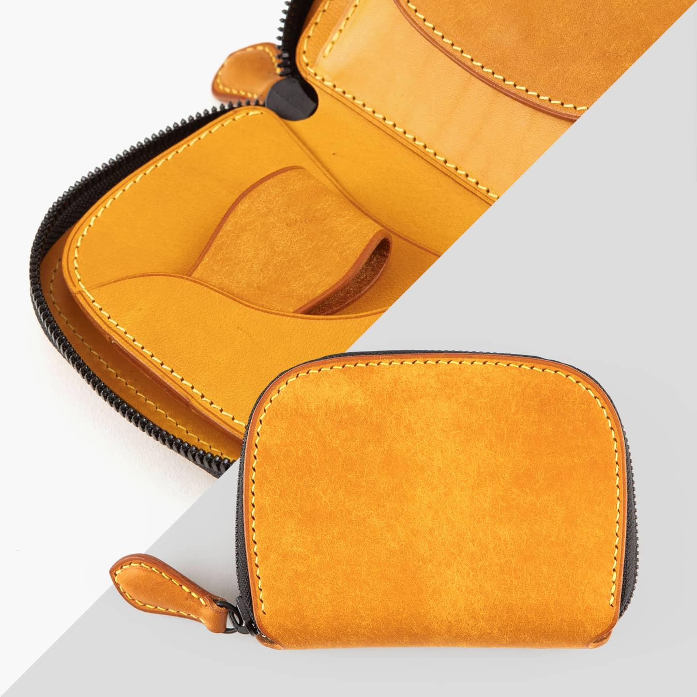 プエブロ & ブッテーロ ショートラウンドジップ財布