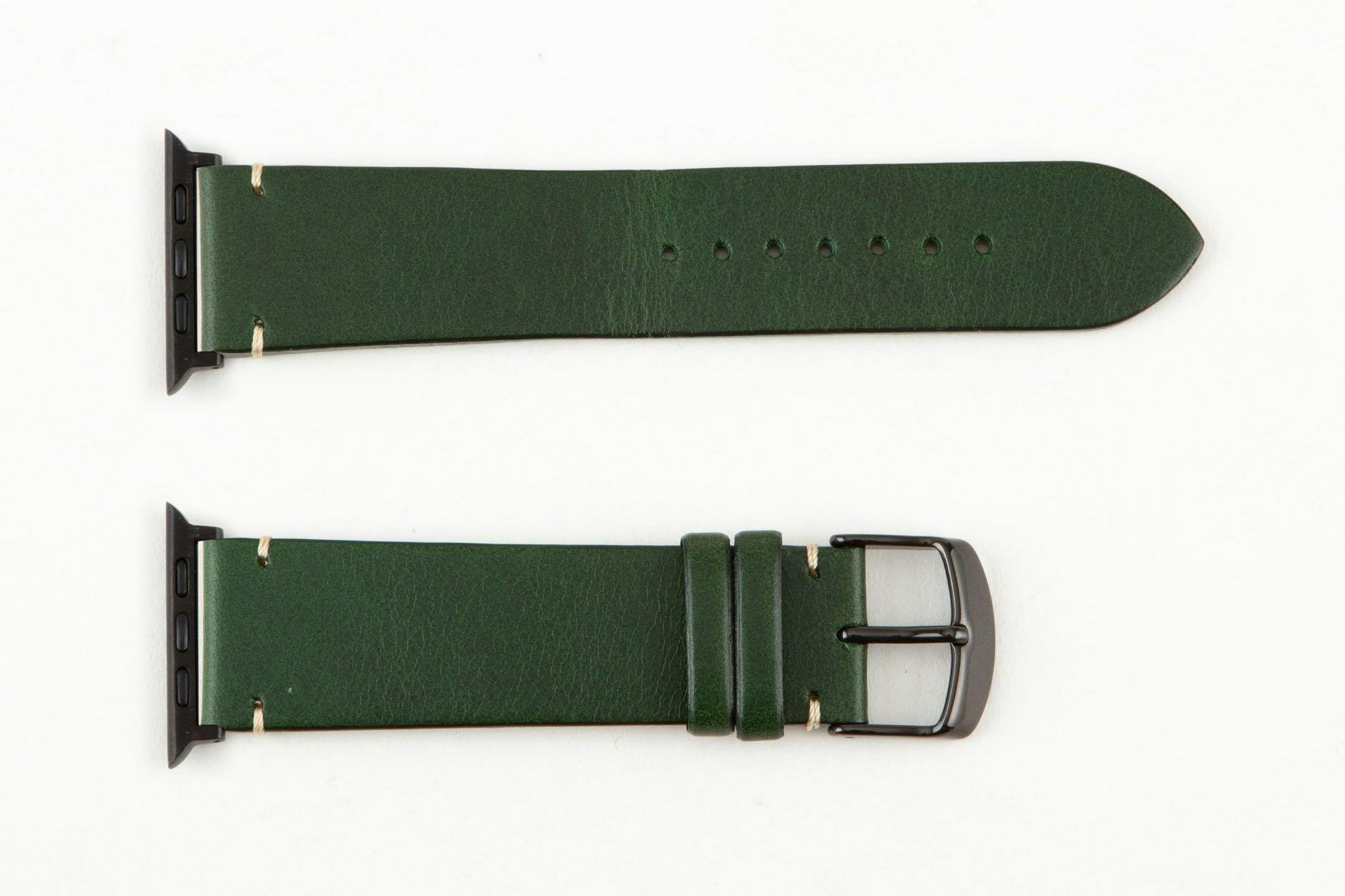 表面:Green / エンドピース&尾錠:Black