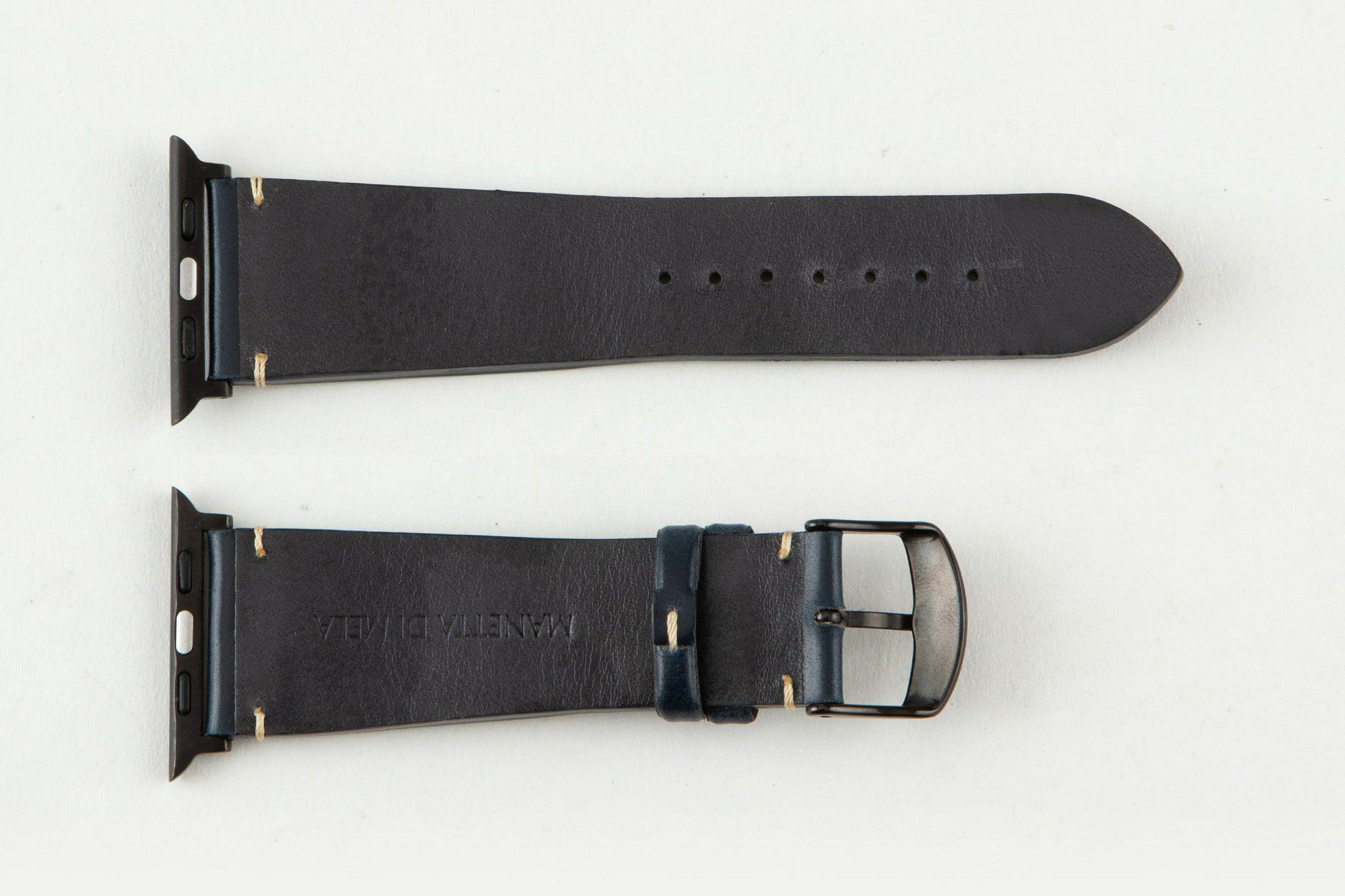 裏面:ラバーカーフ / エンドピース&尾錠:Black