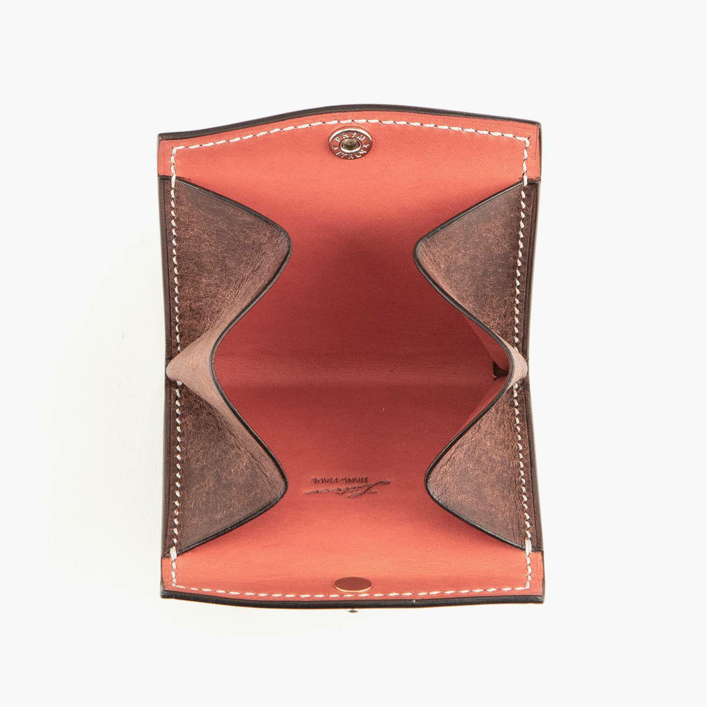 外装(プエブロ):Tabacco、内装(リスシオ):R.Antico、糸色:pearl gray、金具:Silver