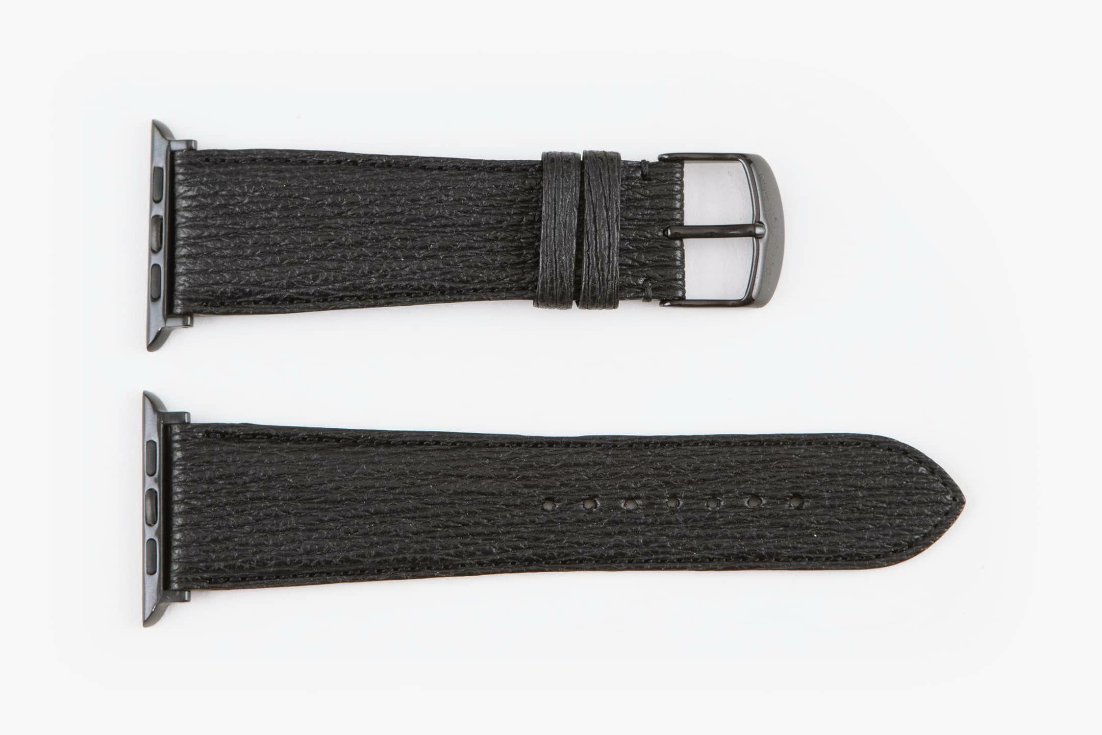表面:Black / エンドピース&尾錠:Black
